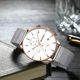 Relógio Curren Prata