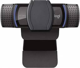 Webcam Full HD Logitech C920s com Microfone, 1080p Widescreen