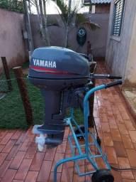 Motor de popa 15 HP Yamaha