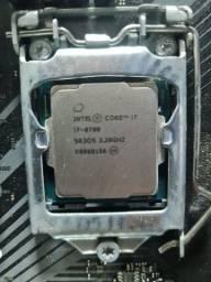 Core I7 8700 dando tela azul