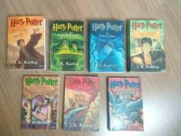 Coleção de Harry Potter completa