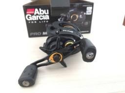 Carretilha Abu Garcia Pro Max3 Original Drag 8 Kg + 100 metros de linha multifilamento x8