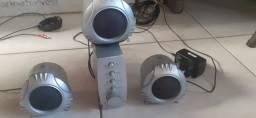 sistema de som para pc/notebook ou tv
