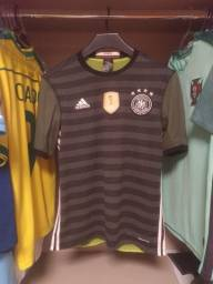 """Camisa 2 rara da Alemanha - Euro 2016 - """"2 em 1"""""""