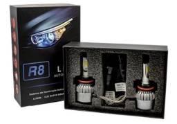 Par lâmpada led H4 6500K R8