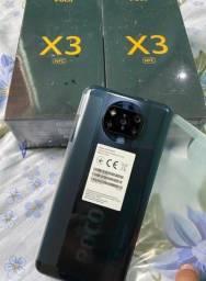 Xiaomi Poco X3 64gb 6gb ram 64mpx câmera tela 6.67