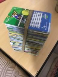 Cartões telefônico