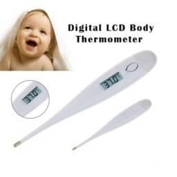 Termômetro Digital Clínico Importado Com Beep Febre Infantil Termômetro Clinico Digital