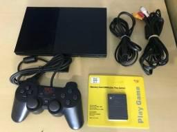 Playstation 2 COM GARANTIA e TESTADO NA HORA