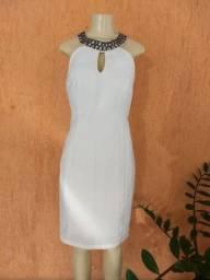 vestido de festa , chapinha ,secador, jardineira pitbull