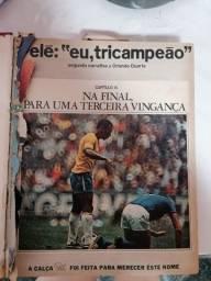 Revista placar edição 1971 encadernado