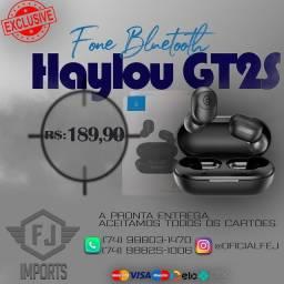 Fone Bluetooth Tws Haylou Gt2s N?1 do mercado