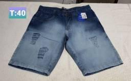 Bermuda jeans da John John tamanho 40, 44 e 46