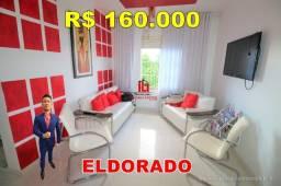Título do anúncio: Eldorado, apartamento 2 quartos, 3º andar, Próximo da Djalma Batista, Use FGTS