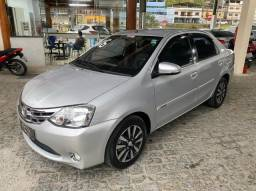 Título do anúncio: Toyota- Etios 1.5 sedan Platinum 2016 + Ipva 2021 pago