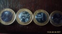 moedas para colecionar