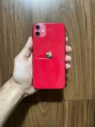 iPhone 11 Vermelho 128Gb 95%BAT. C/CARREG E FONE