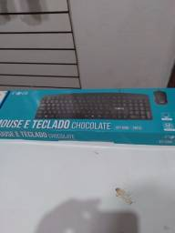 Teclado e mouse Com Fio