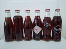 Coleção Coca-Cola Garrafas Históricas (6garrafas)
