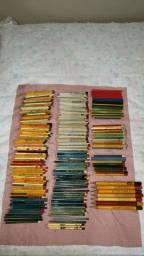 Coleção de 700 Lápis Antigos décadas 50 e 60
