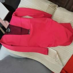 Vestido Nina Morena vermelho tamanho 42
