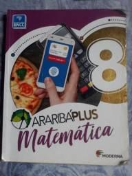 Vendo livros usados 8° série araribá plus