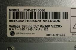 Peças de tv New plasma LG