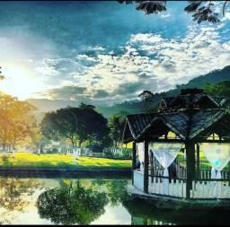 Sítio com 60.000 m2 lida área verde e paisagem maravilhosa