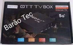 Tv Box Mdtv V 5g 4k 64gb / 8gb Ram / Android 10.1 - Preto