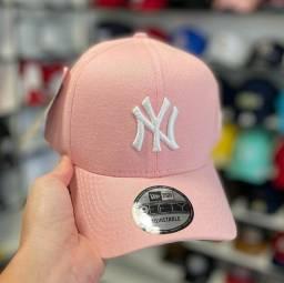 Boné New era rosa