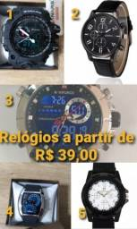 Relógios variados ##### Dia dos pais #####
