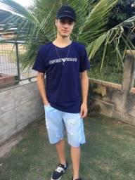 Camisetas Malha Peruana