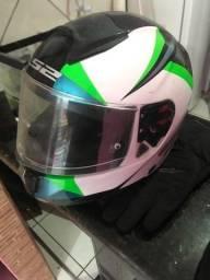 Equipamentos capacete bota luva