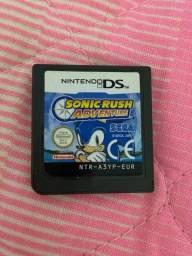 Jogo do Sonic para Nintendo ds/dsi/3ds original e importado