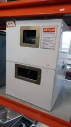 Máquina de caldo de cana elétrica inox (Garapeira) a pronta entrega §