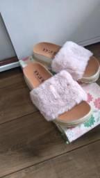 Sapatos diversos somente número 35