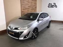 Toyota - yaris 1.5 xs flex automático único dono apenas 13.000 km - 2019