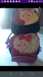 Lancheira.e mochila Barbie original