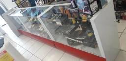 3 Balcões de exposição para loja