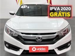 Honda Civic 2.0 16v flexone exl 4p cvt - 2017