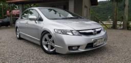 Honda-civic LXS -automático- legalizado baixo - 2009 - 2009