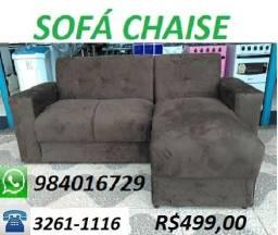 Peça Agora e Receba No Mesmo Dia Lindo Sofa Chaise Super Barato Apenas 499,00