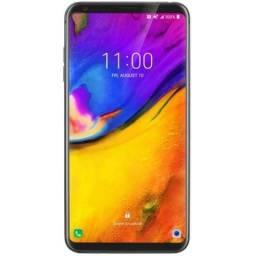 """Smartphone LG V35 ThinQ 64GB Lte 1Sim Tela 6.1"""" Câm.16MP/16MP+8MP-Prata"""