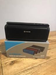 Caixa de som Bluetooth nova
