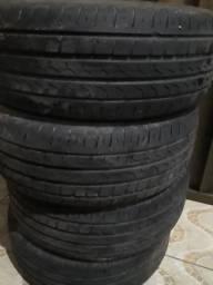 Pneus pirelli cinturato p7 205/55/16 filé mesmo.