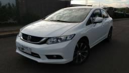 Oportunidade Civic LXR Flexone Branco TOP Único Dono Particular Manual e Chave Reserva - 2016