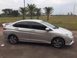 Honda City ELX 1.5 Automático 2014/2015 Prata 47.500 Km Rodados - R$: 52.000,00 - 2015