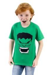 Kit 10 Camisetas Infantil Personagens