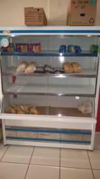 Vitrine expositora para pães