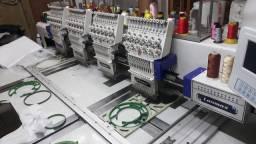 Maquina de bordar 4 cabecas